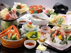 美湾荘 夕食イメージ